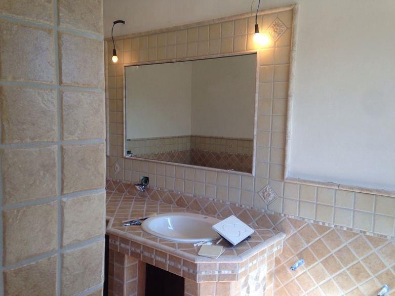 Bagno con doccia in muratura design casa creativa e mobili ispiratori - Bagno muratura mosaico ...