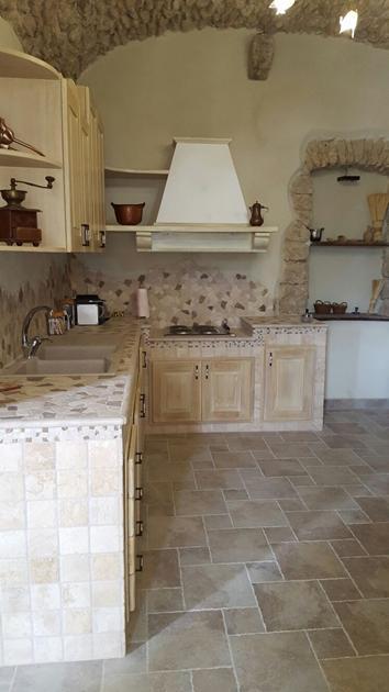 Cucine in muratura - Cucina rustica in pietra ...